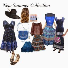India Designs: Fresh Boho Style Dresses