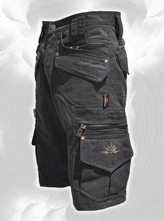 Men Short Pants Hipster Tribal Steampunk Cargo Pants par fairyland6