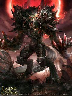 Legends of the cryptids fantasy artwork, dark art, mythological creatures, Dark Fantasy Art, Fantasy Artwork, Dark Art, Fantasy Creatures, Mythical Creatures, Mythological Creatures, Vampires, Werewolf Art, Ange Demon