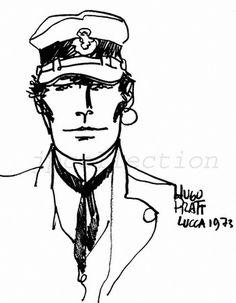Archives Hugo Pratt - Dédicace