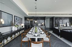 Nate Berkus shared his Kitchen Ideas to help you decorate and organize one of the most important places at your home. Nate Berkus, Luxury Dining Room, Dining Room Design, Dining Rooms, Room Interior Design, Interior Design Inspiration, Design Ideas, Design Furniture, Design Trends