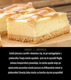 Wykorzystaj tą radę podczas pieczenia sernika
