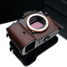 La tengo en la Sony NEX7 y quiero repetir... Gariz Leather Camera Case - Sony A7, @MX Camera
