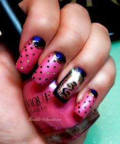 We are excited to see the great nail art created with Venique. Creative Nail Designs, Creative Nails, Nail Art Designs, Great Nails, Love Nails, How To Do Nails, Us Nails, Hair And Nails, Pedicure Nails