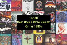 Top 80 Hard Rock + Metal Albums of the 1980s