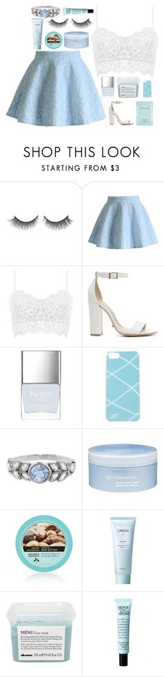 """""""#456"""" by lost-in-a-daydr3am ❤ liked on Polyvore featuring Rimini, Chicwish, Schutz, Butter London, Roger Vivier, Cathy Waterman, Aveda, Lirikos, Davines and philosophy"""