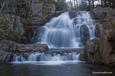 Pennsylvania Waterfalls: How to Get to Hawk Falls in Hickory Run State Park