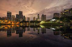 reflection city scape by Jcool975 on 500px