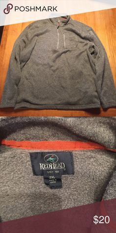 Redhead fleece 1/3 zip Fantastic condition 1/3 for an outdoorsman! Great condition, great quality. Redhead Jackets & Coats