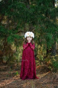 Baby Announcement Discover Ready to Ship- Long Sleeve Burgundy Lace Sweetheart Dress- Flower Girl Wedding Girl Toddler country rustic dress fall winter red Fall Flower Girl, Lace Flower Girls, Flower Girl Dresses Burgundy, Burgundy Lace Bridesmaid Dresses, Rustic Flower Girl Dresses, Flower Girl Outfits, Lace Bridesmaids, Maroon Dress, Burgundy Dress