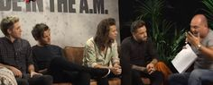 1D || Made In The A.M. Promo Interview with NRJ