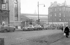 66 Dundas Street rear of Queen Street Station 1962