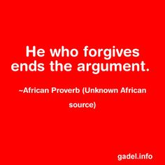I promise you this works: african proverb