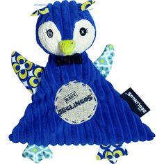 Un joli doudou pour accompagner bébé dans ses aventures !   Doudou Baby Frigos le Pingouin (28 cm) - Déglingos