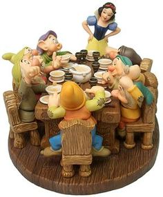 Snow White and the Seven Dwarfs-Soup's On (2000 Numbered Limited Edition-Signature Series)