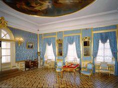 Luxury Interior Design, Interior Architecture, Romanov Palace, Inside Castles, Peterhof Palace, Palace Interior, Baroque Design, Peter The Great, Summer Palace