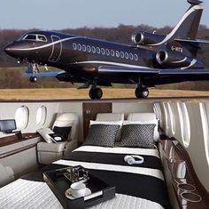 Private Jet with Bedroom . Private Jet with Bedroom . the Boeing 747 Vip Version is the Final Word In Luxury Air Jets Privés De Luxe, Luxury Jets, Luxury Private Jets, Private Plane, Avion Jet, Jet Aviation, Private Jet Interior, Aircraft Interiors, Billionaire Lifestyle