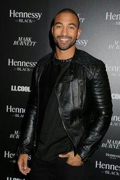 Matt Kemp rocking the black leather jacket. Gorgeous Black Men, Beautiful Men, Beautiful People, Leather Men, Leather Jacket, Black Leather, Jacket Men, Jacket Style, Moto Jacket