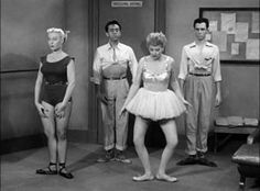 When Lucy learns of an opening for a ballet dancer in one of Ricky's shows, she decides to take lessons. Description from pinterest.com. I searched for this on bing.com/images
