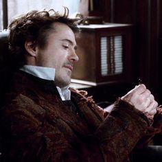 Sherlock Holmes (Robert Downey Jr.) - my favorite of all the current Holmes adaptations, tbh.