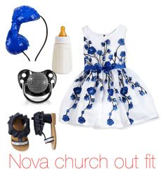 """Nova church outfit"" by disney21 ❤ liked on Polyvore featuring beauty, Zoe and The Children's Place"
