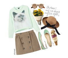 """~I should have played it cool, instead I made a fool; oh, the things I do~"" by maloops ❤ liked on Polyvore"