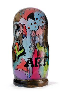 Artiste Joy' Popy Can & Poupées Russes, sculpture - bronze Sculpture Art, Sculptures, French Artists, Lovers Art, Pop Art, Bronze, Joy, Canning, Artwork