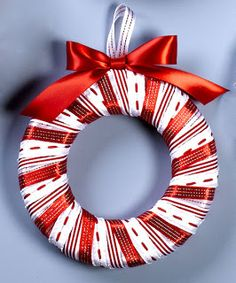 Deshilachado: Manualidades navideñas para niños / Christmas crafts for kids