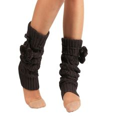 """Siniao Women Winter Warm Knitted Socks Leg Warmers Boot Crochet Long Socks (Dark Gray). You can Pair them with tights, leggings, skirts, skinny jeans for a sweet cozy look. Material:Knitted. Size:39cmX12cm/15.35""""X4.72"""". Our leg warmers are any boot's best friend. The necessary accessory for the winter season when you go outside."""