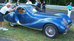 1938 Figoni & Falaschi Talbot-Lago Type 150 C SS Teardrop Coupe