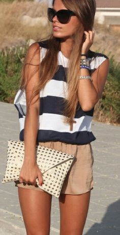 summer stripes #srfashion