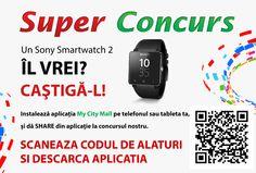 Dragi prieteni, a sosit momentul anuntarii fericitului castigator al super concursului nostru dotat cu un premiu pe masura: un Sony SmartWatch 2! Ei bine, castigatoarea este... MIHAELA CRISAN din Oradea. Mihaela, te asteptam saptamana viitoare la sediul nostru sa-ti oferim premiul. Va multumim tuturor pentru participare si speram ca aplicatia noast...