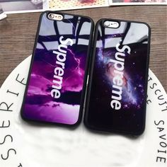 Fashion Supreme Mirror Phone Case For iPhone 7 Plus 6 6s Plus 5 5s SE Cover Soft Coque Covers For iPhone 6 7Plus Cases Fundas #iphone6splus,