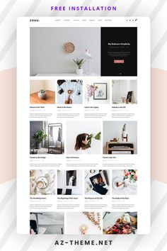 Zobo is a clean and minimalist theme that allows your reader to focus on your content, build especially for daily or hobby bloggers who love to share their stuff. Whether it's about life, fashion, travel, beauty or just a simple personal blog. Featuring a clean, elegant design, this theme is guaranteed to bring a pleasant reading experience to your readers. Currently selling products or dream of someday opening an online store? Have no fear! Zobo and WooCommerce are the best of friends. Top Wordpress Themes, Wordpress Website Design, Custom Website Design, Web Themes, Best Web Design, Website Design Inspiration, Things To Sell, Minimalist, Content