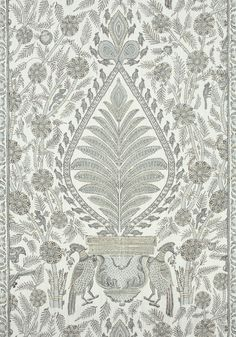 PALAMPORE, Grey, AF78724, Collection Palampore from Anna French