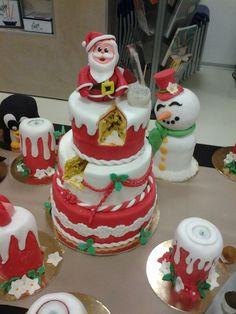 torta Natale Omar Busi