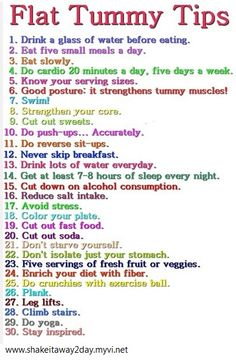 Flat Tummy Tips ~ Body by Vi 90 Day Challenge! http://shakeitaway2day.myvi.net/  this is so easy and sooo helpful i promise