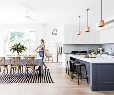 """When a long-admired 1920s abode came on the market, this energetic family in Sydney jumped at the chance to make it their dream home Jane Garrett is a graphic designer who lives with her partner Peter and teenage children Phoebe and Gil. They bought their home on Sydney's North Shore back in 2006. """"It was built …"""