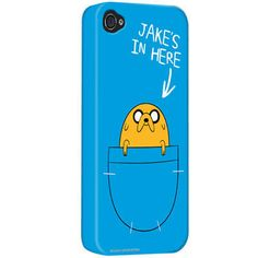 One of my favorite discoveries at CartoonNetworkShop.com: Adventure Time 'Jake's In Here' iPhone Case