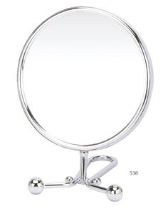 15cm Hand Mirror Chrome, you can use this mirror as a hand mirror or as a vanity mirror!
