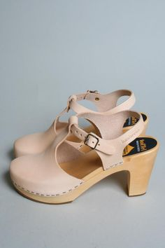 Swedish Hasbeens ---comfiest heels, the leather has molded to me feet