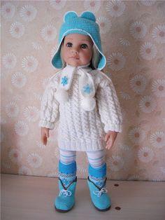 Зимние аксессуары и одежда для кукол Gotz. / Одежда для кукол / Шопик. Продать купить куклу / Бэйбики. Куклы фото. Одежда для кукол