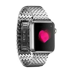 AutumnFall Luxury Stainless Steel Link Bracelet Watch Band Strap for Apple Watch 38mm  - More Festina ladies watches at