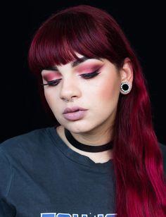 favorite grunge makeup limecrime #grunge #venuspalette