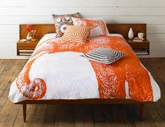 lion & elephant bedding