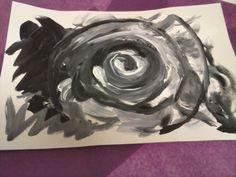 Shades of Grey . . . In Art Therapy by Deb Schroder
