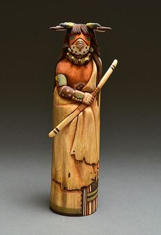 Mountain Lion Kachina Doll by Nuvadi Dawahoya (Hopi)