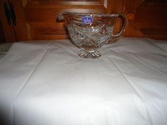 Royal Doulton Finest Crystal Handled Gravy Boat. Footed. #RoyalDoulton