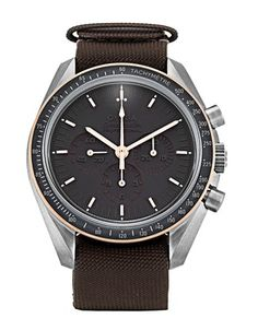 Pre-owned Limited Edition Omega Speedmaster Moonwatch Gents Automatic watch. 42 mm Titanium & Rose Gold case, with Grey Baton dial. Omega Speedmaster Moonwatch, Limited Edition Watches, Automatic Watch, Omega Watch, Rose Gold, Accessories, Ornament