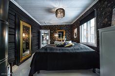 Changement de décor dans la chambre pour une inspiration très art-déco